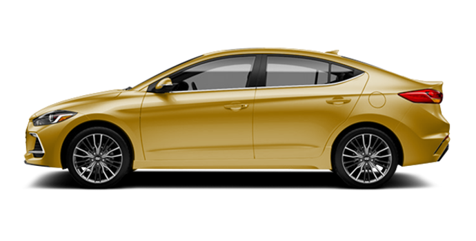 2017 Hyundai Elantra Sport TECH | Photo 4 | Blazing Yellow