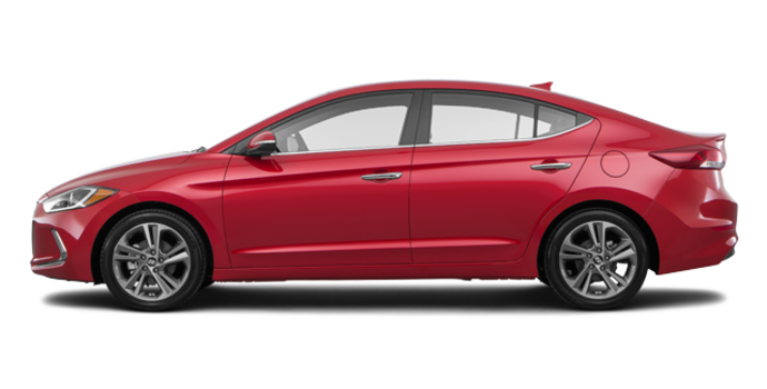 2017 Hyundai Elantra LIMITED | Photo 4 | Fiery Red