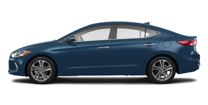 2017 Hyundai Elantra LIMITED | Photo 4 | Moonlight Blue