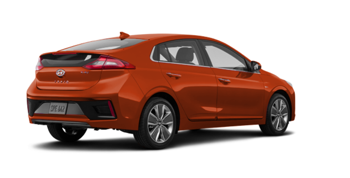 2017 Hyundai IONIQ LIMITED/TECH | Photo 5 | Phoenix Orange