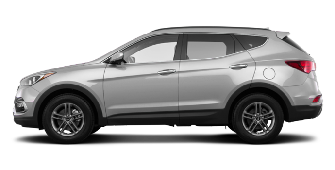 2017 Hyundai Santa Fe Sport 2.4 L LUXURY | Photo 4 | Sparkling Silver