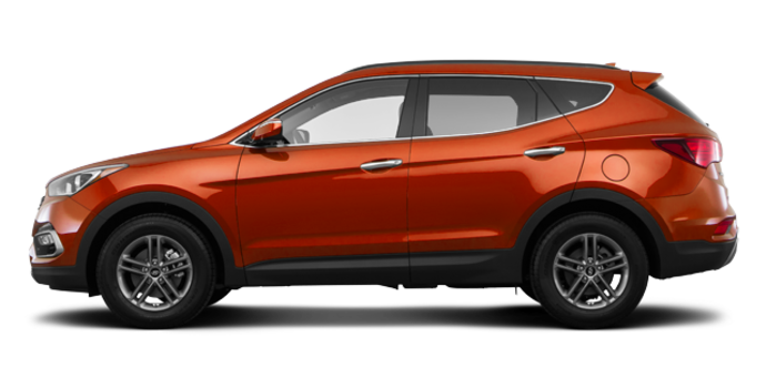 2017 Hyundai Santa Fe Sport 2.4 L LUXURY | Photo 4 | Canyon Copper