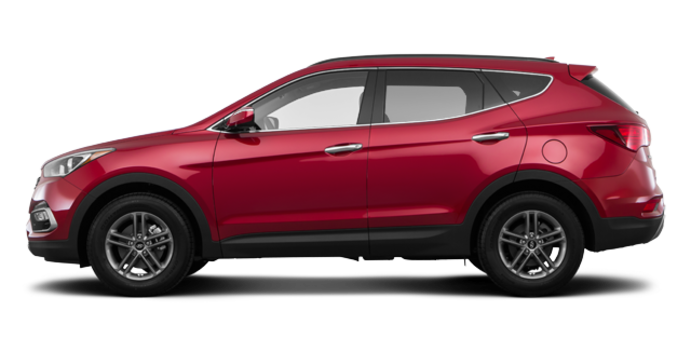 2017 Hyundai Santa Fe Sport 2.4 L LUXURY | Photo 4 | Serrano Red
