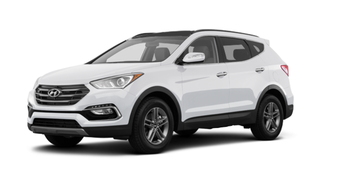 2017 Hyundai Santa Fe Sport 2.4 L LUXURY | Photo 6 | Frost White Pearl