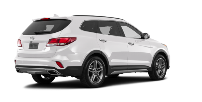 2017 Hyundai Santa Fe XL LIMITED | Photo 5 | Monaco White