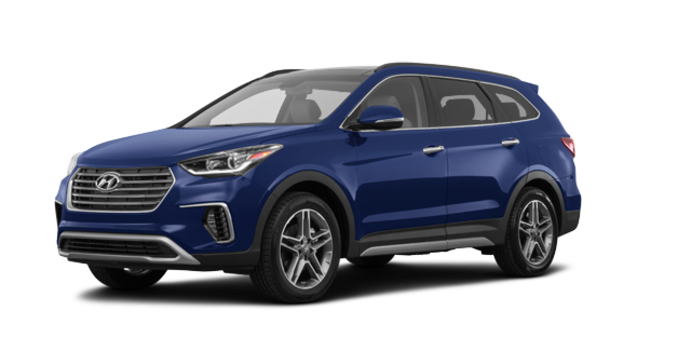 2017 Hyundai Santa Fe XL LIMITED | Photo 6 | Storm Blue