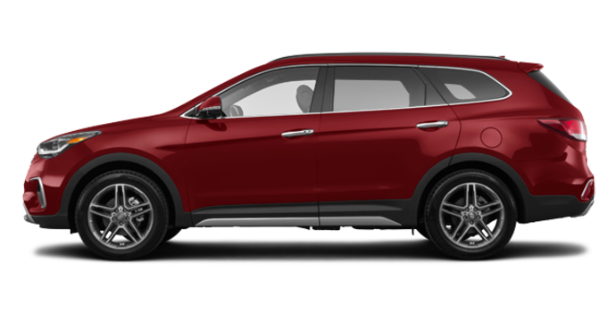 2017 Hyundai Santa Fe XL ULTIMATE | Photo 4 | Regal Red Pearl