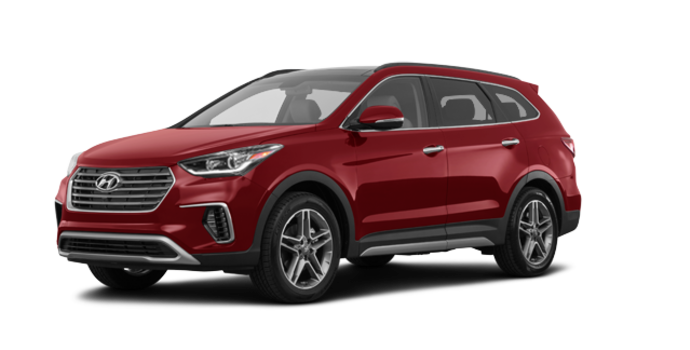 2017 Hyundai Santa Fe XL ULTIMATE | Photo 6 | Regal Red Pearl