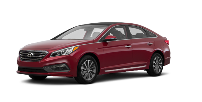 2017 Hyundai Sonata SPORT TECH | Photo 6 | Venetian Red