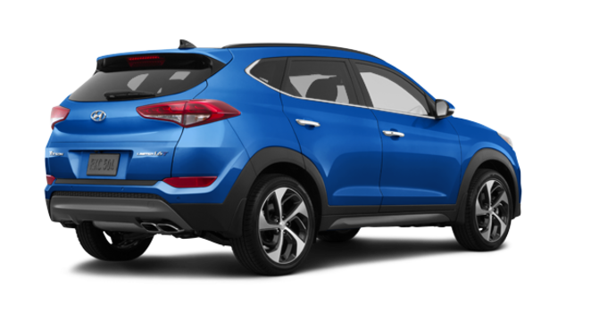 2017 Hyundai Tucson 1.6T LIMITED AWD | Photo 5 | Caribbean Blue