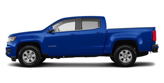 2018 Chevrolet Colorado WT | Photo 4 | Kinetic Blue Metallic