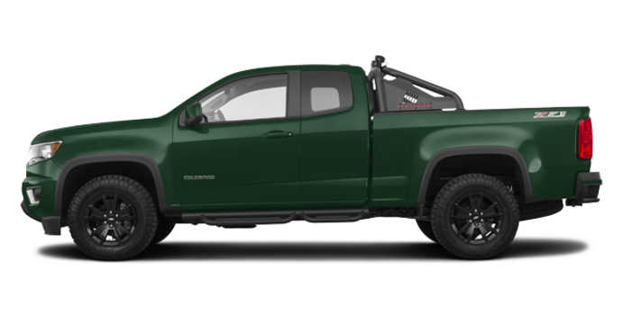 2018 Chevrolet Colorado Z71 | Photo 4 | Deepwood Green Metallic