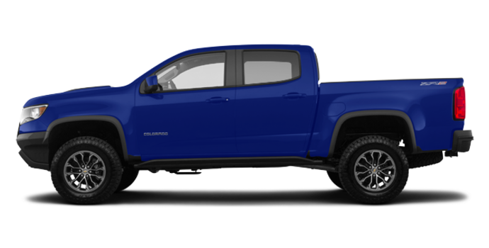 2018 Chevrolet Colorado ZR2 | Photo 4 | Kinetic Blue Metallic