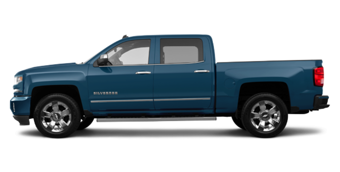 2018 Chevrolet Silverado 1500 LTZ 2LZ | Photo 4 | Deep Ocean Blue Metallic