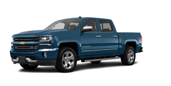 2018 Chevrolet Silverado 1500 LTZ 2LZ | Photo 6 | Deep Ocean Blue Metallic