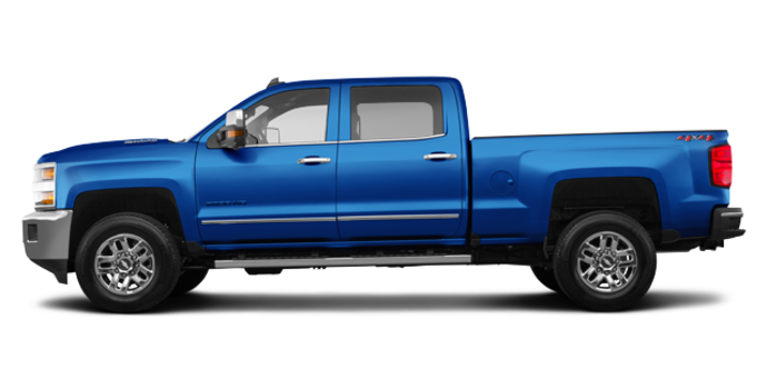 2018 Chevrolet Silverado 2500HD LTZ | Photo 4 | Deep Ocean Blue Metallic