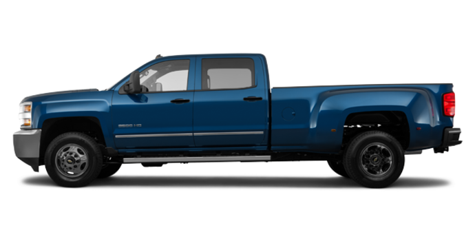 2018 Chevrolet Silverado 3500 HD WT | Photo 4 | Deep Ocean Blue Metallic