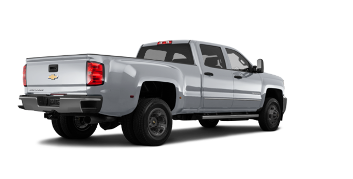 2018 Chevrolet Silverado 3500 HD WT | Photo 5 | Silver Ice Metallic
