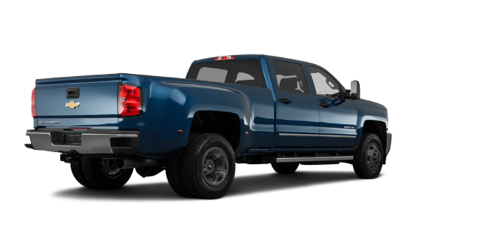 2018 Chevrolet Silverado 3500 HD WT | Photo 5 | Deep Ocean Blue Metallic
