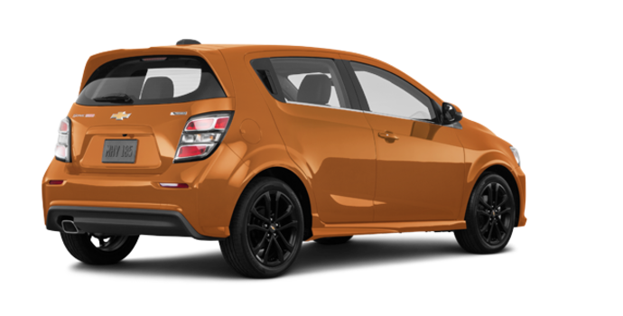 2018 Chevrolet Sonic Hatchback PREMIER | Photo 5 | Orange Burst Metallic