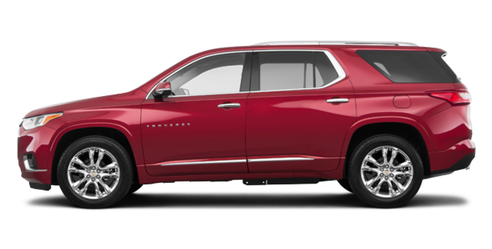 2018 Chevrolet Traverse HIGH COUNTRY | Photo 4 | Cajun red tintcoat