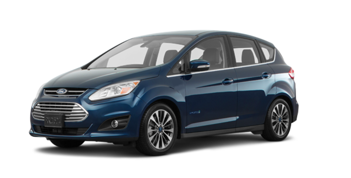2018 Ford C-MAX HYBRID TITANIUM | Photo 6 | Blue
