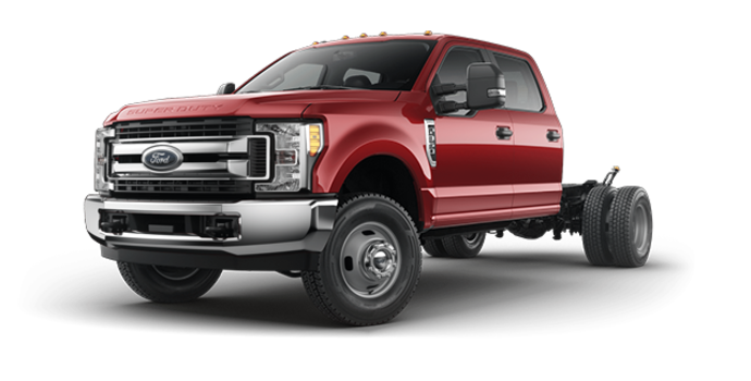 2018 Ford Chassis Cab F-350 XLT | Photo 4 | Ruby Red