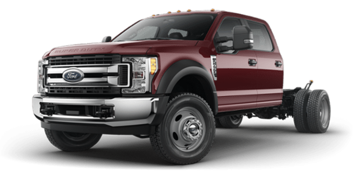 2018 Ford Chassis Cab F-450 XLT | Photo 4 | Magma Red
