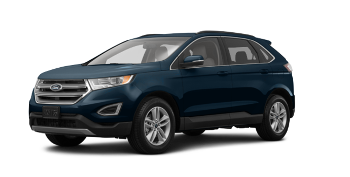 2018 Ford Edge SEL | Photo 6 | blue metallic