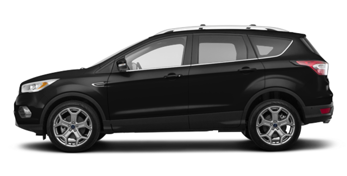 2018 Ford Escape TITANIUM | Photo 4 | Shadow Black