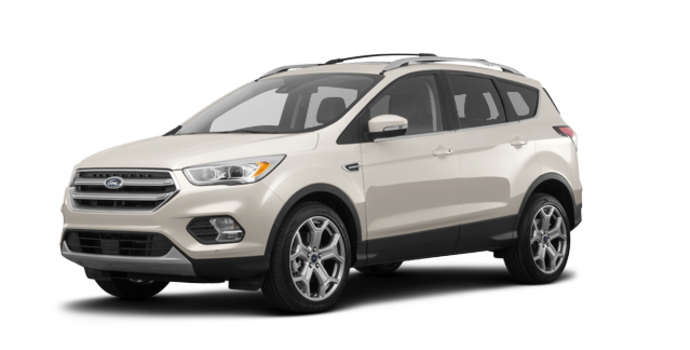 2018 Ford Escape TITANIUM | Photo 6 | White Gold