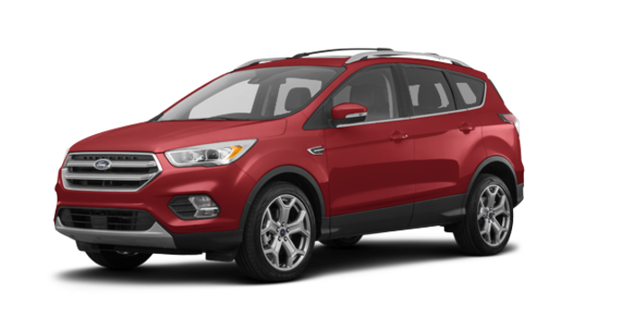 2018 Ford Escape TITANIUM | Photo 6 | Ruby Red Metalic Tinted