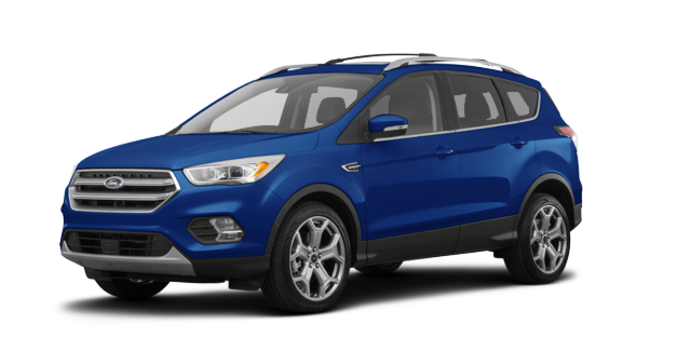 2018 Ford Escape TITANIUM | Photo 6 | Blue Lightning