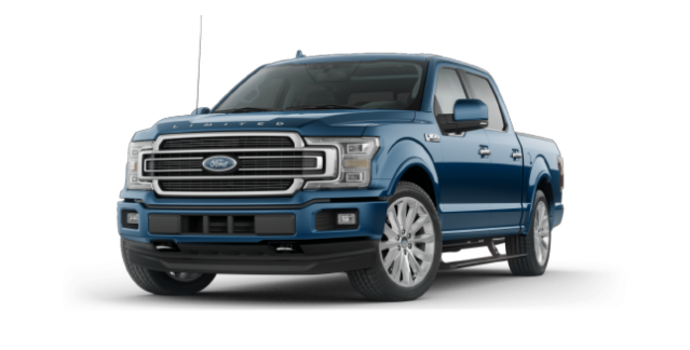2018 Ford F-150 LIMITED | Photo 6 | Blue Jeans Metallic