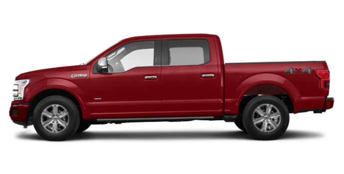 2018 Ford F-150 PLATINUM | Photo 4 | Ruby Red Metallic