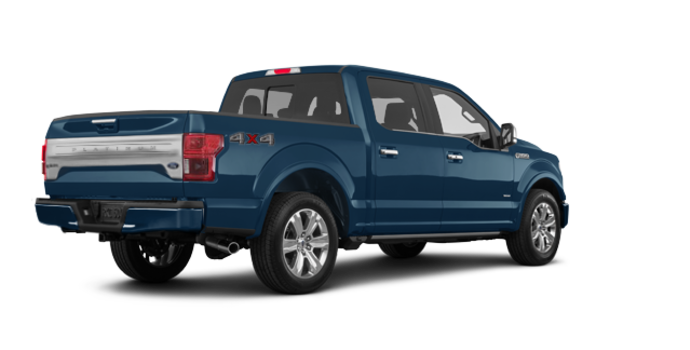 2018 Ford F-150 PLATINUM | Photo 5 | Blue Jeans Metallic
