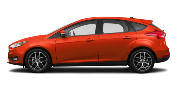 2018 Ford Focus Hatchback SEL | Photo 4 | Hot Pepper Red Metallic