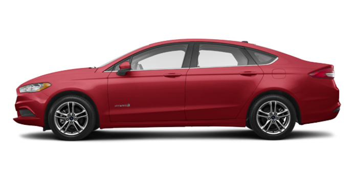 2018 Ford Fusion Hybrid SE | Photo 4 | Ruby Red
