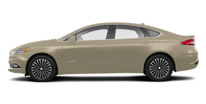 2018 Ford Fusion Hybrid TITANIUM | Photo 4 | White Gold