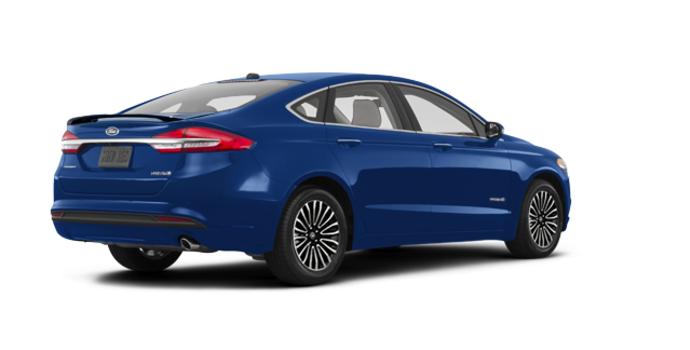 2018 Ford Fusion Hybrid TITANIUM | Photo 5 | Lightning Blue