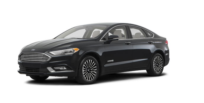 2018 Ford Fusion Hybrid TITANIUM | Photo 6 | Shadow Blakc
