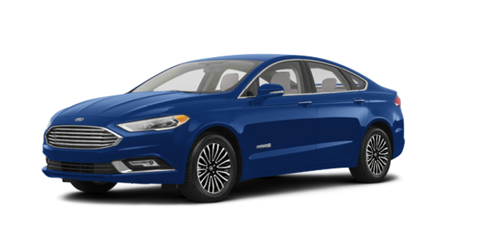 2018 Ford Fusion Hybrid TITANIUM | Photo 6 | Lightning Blue