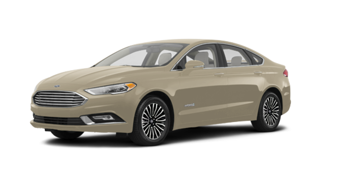 2018 Ford Fusion Hybrid TITANIUM | Photo 6 | White Gold