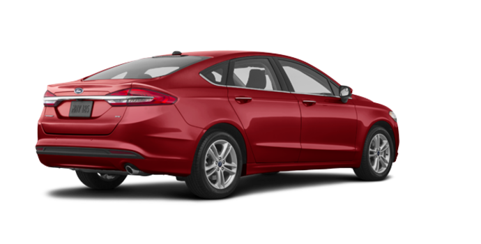 2018 Ford Fusion SE | Photo 5 | Ruby Red