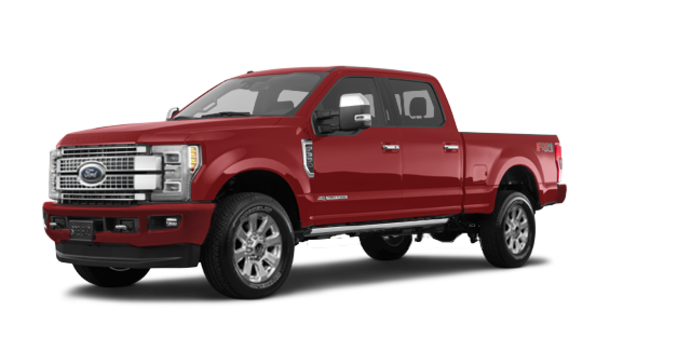 2018 Ford Super Duty F-350 PLATINUM | Photo 6 | Ruby Red