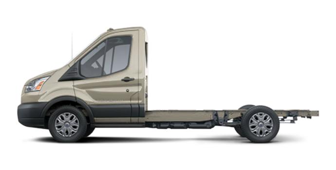 2018 Ford Transit CC-CA CHASSIS CAB | Photo 4 | White Gold Metallic
