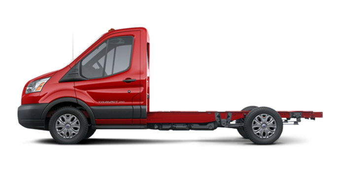 2018 Ford Transit CC-CA CHASSIS CAB | Photo 4 | Race Red