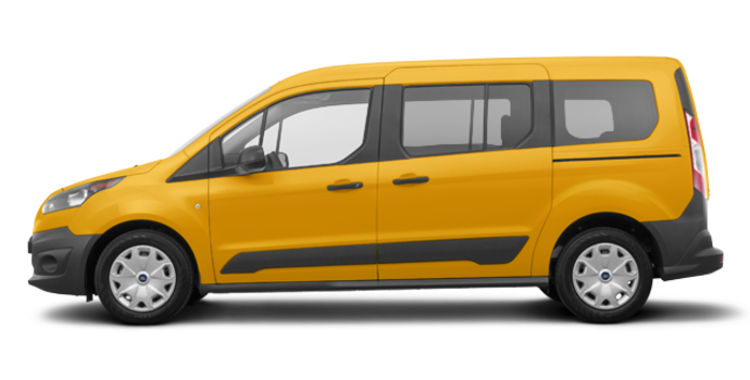2018 Ford Transit Connect XL WAGON | Photo 4 | School Bus Yellow