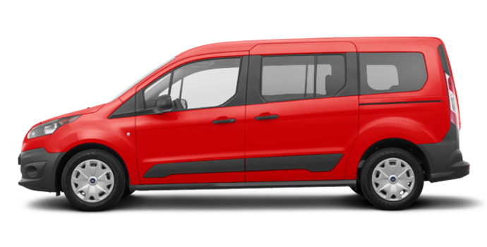 2018 Ford Transit Connect XL WAGON | Photo 4 | Race Red