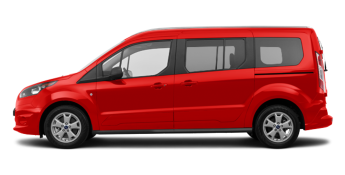 2018 Ford Transit Connect XLT WAGON | Photo 4 | Race Red